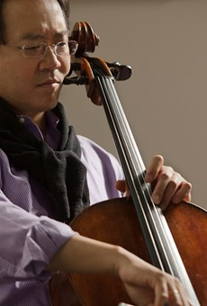Yo Yo Ma to play with the Orlando Philharmonic in May