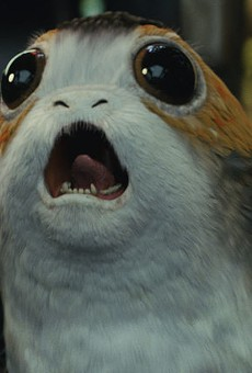 It looks like Disney's new Star Wars land might sell Furby-like porg dolls