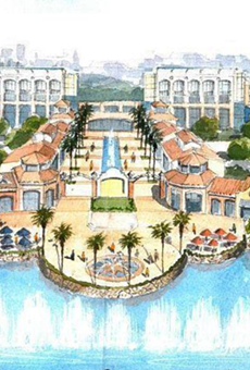 Unicorp will build a new billion-dollar, Bellagio-style development near Disney World