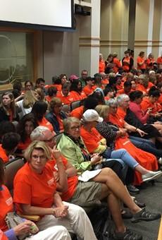 Florida senators reject assault weapons ban, approve proposal to arm teachers