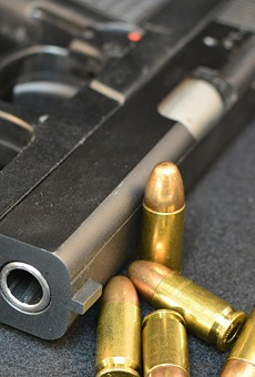Lake County employees are now allowed to carry firearms at work, and knives and scissors