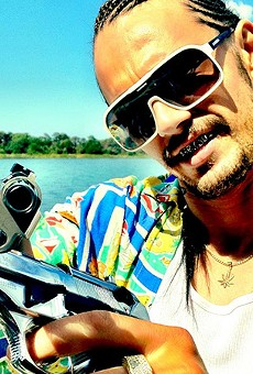 "James Franco as ""Alien"" in Spring Breakers"
