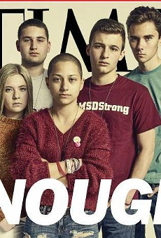 Stoneman Douglas survivors featured on cover of TIME