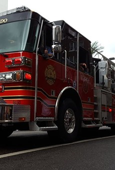A former Florida firefighter of the year is suing City of Orlando for 'wrongful termination'