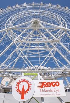 Coca-Cola Orlando Eye is now the Faygo Orlando Eye