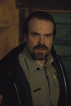 'Stranger Things' star David Harbour says he'll dress up as Eleven at Halloween Horror Nights