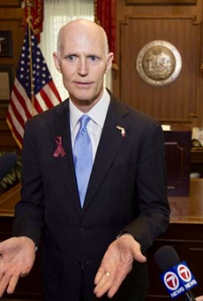 Just a reminder that Gov. Rick Scott has never worn a Pulse ribbon