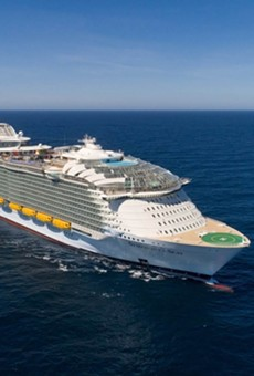 Royal Caribbean releases hyper-lapse video of world's largest cruise ship