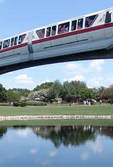 Has Disney finally realized their monorails need a major update?