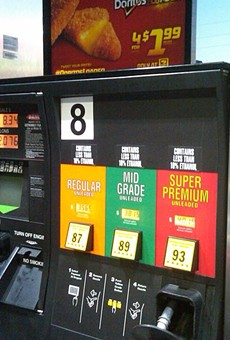 Gas prices have hit a three-year high at Florida pumps