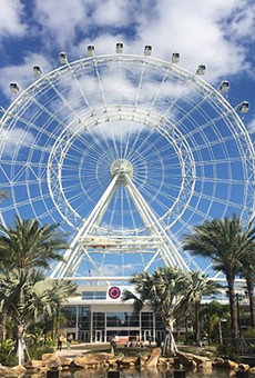 The Coca Cola Orlando Eye is now the ICON Orlando