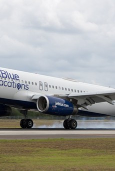 JetBlue will operate three new gates at Orlando International Airport