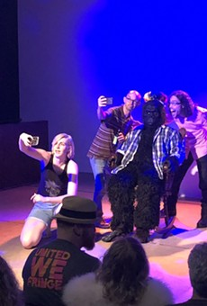 A mysterious Fringe show starring a gorilla raised serious questions about Orlando's cultural character