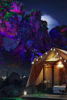 Disney is giving away a chance to 'glamp' at Animal Kingdom's World of Avatar
