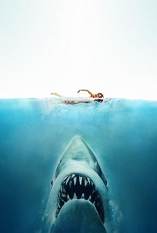 Float in a pool and watch 'Jaws' on the big screen this summer at Winter Park's Dive-In Movie