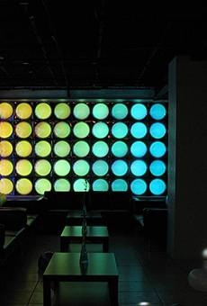Embrace the future at Never Log Off in Bikkuri Sushi's sci-fi lounge