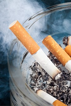 Florida smokers puff more than their national counterparts, report finds