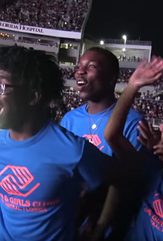 Watch moment when Evans High student finds out he won $100K scholarship from Beyoncé, Jay-Z in Orlando