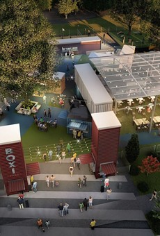 New details released on shipping container food hall coming to Lake Nona