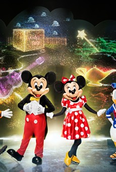 Mickey and pals are playing it cool in Orlando's Amway Center during this weekend's world premiere of their latest Disney On Ice tour.