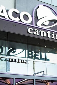 Orlando's first Taco Bell Cantina, which serves booze, is finally open