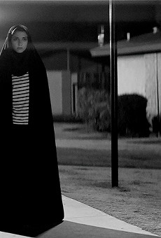 More Q Than A screens Iranian vampire western 'A Girl Walks Home Alone at Night' at the Rogers-Kiene Building