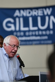 Bernie Sanders is coming back to UCF this week to campaign for Andrew Gillum