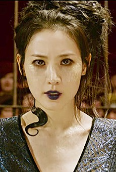 Claudia Kim as Nagini in The Crimes of Grindelwald