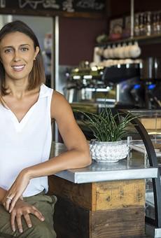 Sanctum Cafe owner Chelsie Savage