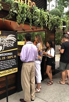 Bierfest at Busch Gardens Tampa