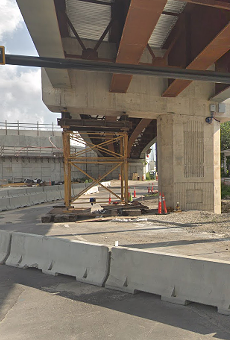 I-4 overpass opens in downtown Orlando even though there's cracks in it