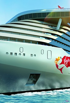 Virgin Voyages' cruise ship suites will have 'peek-a-boo' showers and rock-n-roll rider sheets