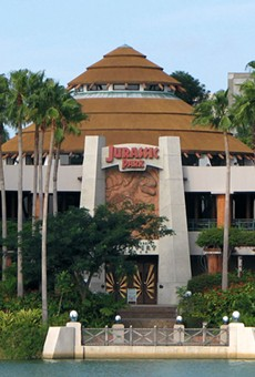 The Jurassic Park Discovery Center at Islands of Adventure
