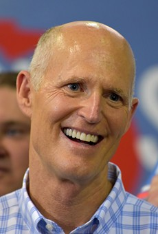Florida Sen. Rick Scott is now refusing to put his wealth in a blind trust