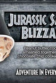 "DQ rolls out ""Jurassic World""-themed Blizzard in time for June 12 film release"