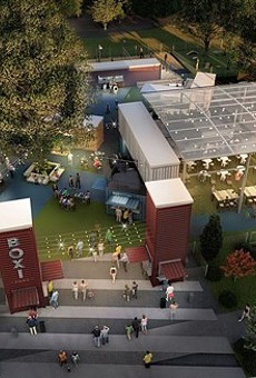 Get a sneak peek of Orlando's new shipping container food hall this weekend