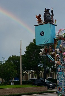 Florida Department of Transportation tells city to take down a piece of public art in Mills 50