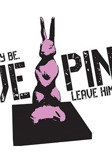 Lake Como residents plan to rally to save the pink bunny **UPDATE: The pink bunny is staying where it is**