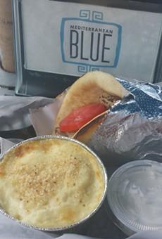 New nosh: Greek mac 'n cheese at Mediterranean Blue on Thursdays