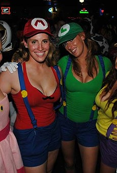 Head to Tin Roof this Saturday to give your costume a test run at Halloween in July
