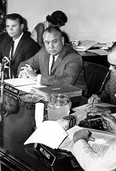 "The ""Johns"" Committee holds a public hearing in Tallahassee on July 31, 1964."