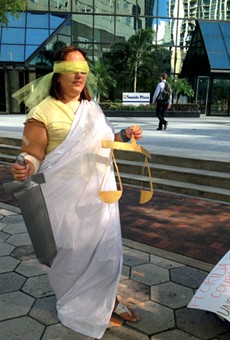 Court advocates protest Marco Rubio over federal judicial vacancies