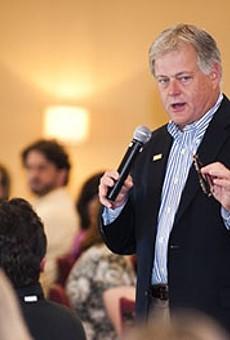 Valencia President Sandy Shugart