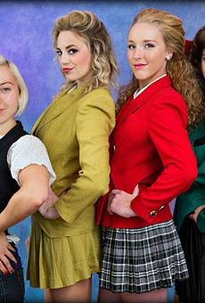 An interview with Kyla Swanberg, the designer behind the eye-catching costumes of 'Heathers: The Musical'
