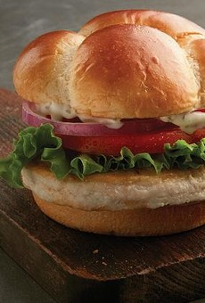 McDonald's unveiled a ground chicken burger in Tampa, and they expect you to eat it