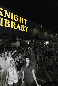 Knight Library, No. 1 on the 50 Best College Bars in America