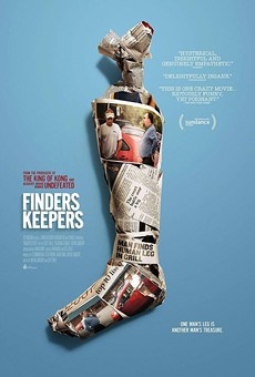 'Finders Keepers,' an odd doc about a man's missing leg, opens at Enzian on Friday
