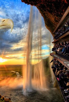 "Wings over Washington is a Dynamic Attractions ""flying theater"" opened in Seattle in 2016."