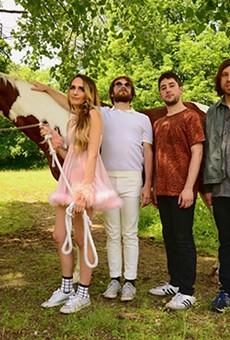 Indie rock revivalists Speedy Ortiz play Will's Pub this week