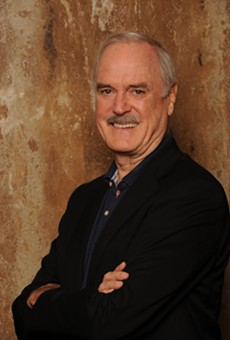 John Cleese on his new tour with Eric Idle, bad Q&A questions and how to tell when comedy works